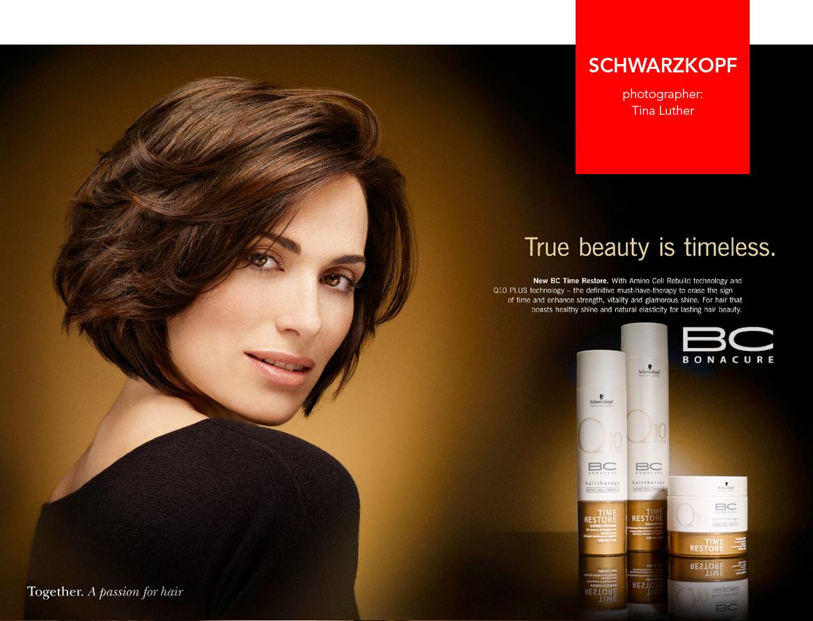 Digital Support und Lookentwicklung für die Essential-Looks-Produktionen von Schwarzkopf