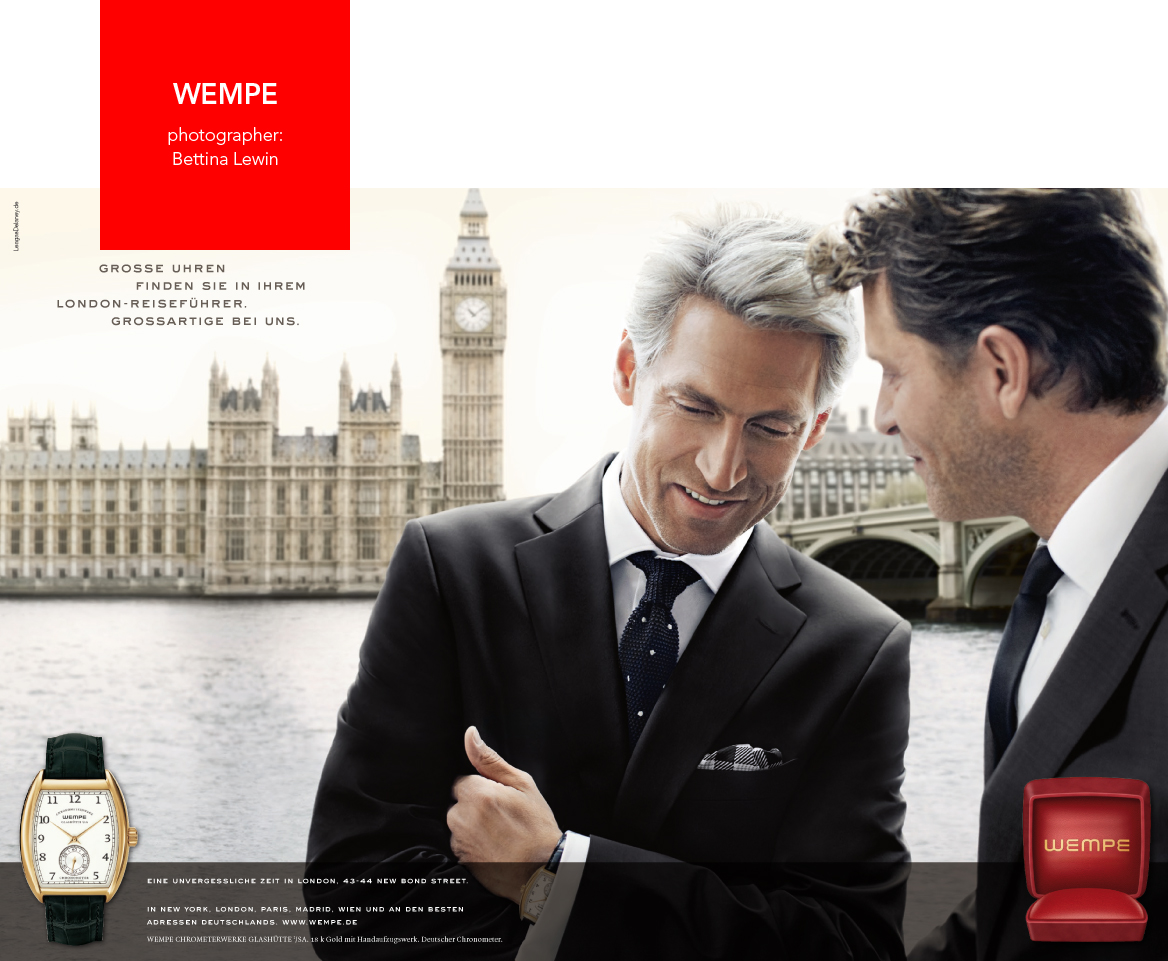 WEMPE LONDON RED