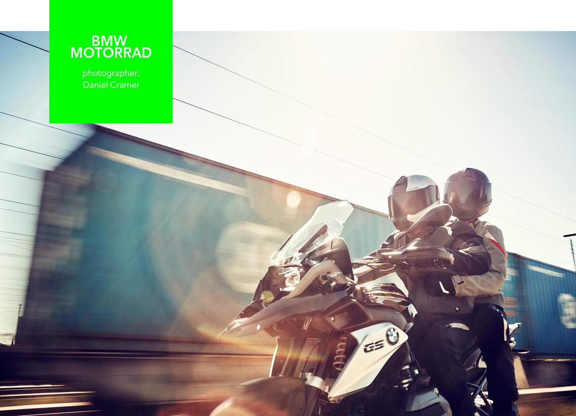 Digital-Support und Lookentwicklung für die BMW-Motorrad-Produktion mit Daniel Cramer